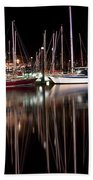 Scarborough Boats Bath Towel