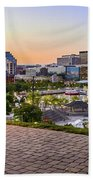 Scenic View From Federal Hill Bath Towel
