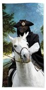 Schipperke Art Canvas Print - The Danube Valley Near Regensburg Bath Towel
