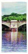 Schuylkill River Bath Towel