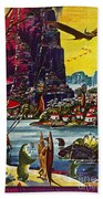 Science Fiction Cover, 1941 Bath Towel