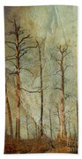 Scorched Forest Bath Towel