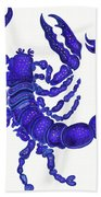 Scorpio Bath Towel