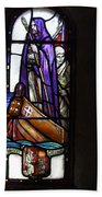 Scottish Stained Glass Window #2 Bath Towel