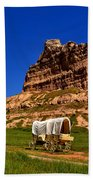 Scotts Bluff Large Panorama Bath Towel