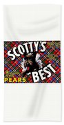 Scotty's Best Washington State Pears Bath Towel