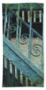 Scrolled Staircase By H H Photography Of Florida Bath Towel