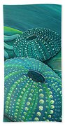 Sea Anemone Kina By Reina Cottier Hand Towel