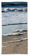Sea Foam At The Shore Bath Towel