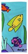 Sea Frolic Bath Towel