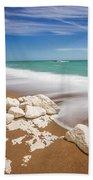 Sea In Motion Bath Towel