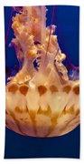 Sea Nettle Jellyfish Bath Towel