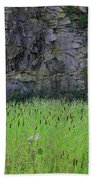 Sea Of Cattails Bath Towel