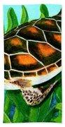 Sea Turtle Honu #352 Bath Towel