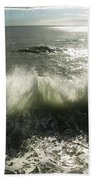 Sea Waves3 Bath Towel