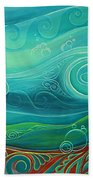 Seabed By Reina Cottier Bath Towel