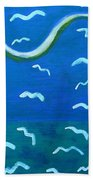 Seagulls Bath Towel