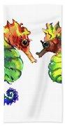 Seahorse Love Bath Towel