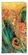 Seahorse - Spirit Of Contentment Hand Towel
