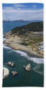 Seal Rocks At The Cliff House Bath Towel