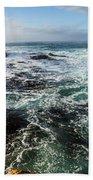 Seas Of The Wild West Coast Of Tasmania Bath Towel
