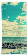 Seascape Cloudscape Instagramlike Bath Towel