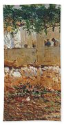 Seascape View Of Palma De Mallorca Bath Towel