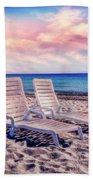 Seaside Chairs Bath Towel