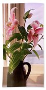 Seaside Lilies Bath Towel