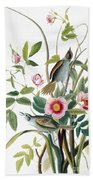 Seaside Sparrow, 1858 Bath Towel
