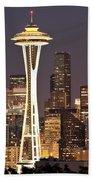 Seattle Full Moon Hand Towel