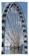 Seattle Great Wheel Bath Towel