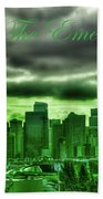 Seattle Washington - The Emerald City Bath Towel