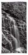 Secluded Falls - Bw Bath Towel