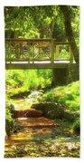 Secret Garden Bridge Bath Towel