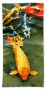 Secrets Of The Wild Koi 11 Hand Towel