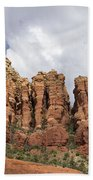 Sedona Arizona Red Rocks Bath Towel