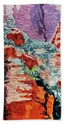 Sedona Arizona Rocky Canyon Bath Towel