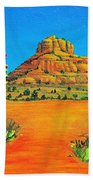 Sedona Bell Rock Bath Towel
