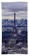 See Paris As Birds Do Bath Towel