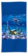 See Turtles Bath Towel