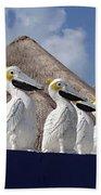 Sentry Pelicans Hand Towel