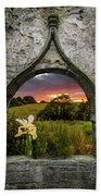 Serene Sunset Over County Clare Hand Towel by James Truett