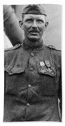 Sergeant York - World War I Portrait Bath Towel