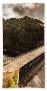 Serpentine River Crossing Bath Towel