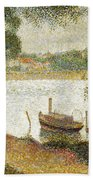 Seurat: Gray Weather Bath Towel