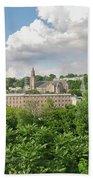 Seville Schofields Mill And St John The Baptist - Manayunk Bath Towel