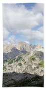 Sextener Dolomites Bath Towel