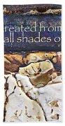 Shades Of Beauty Bath Sheet by Kevyn Bashore
