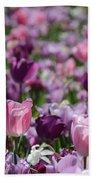 Days Of Wine And Tulips Bath Towel